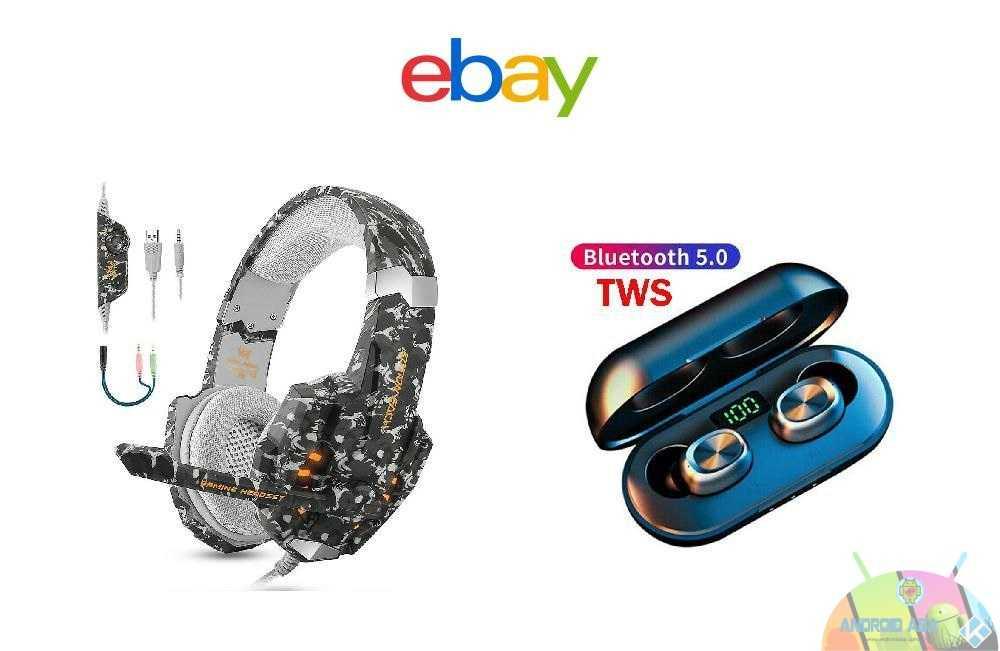 cuffie ebay