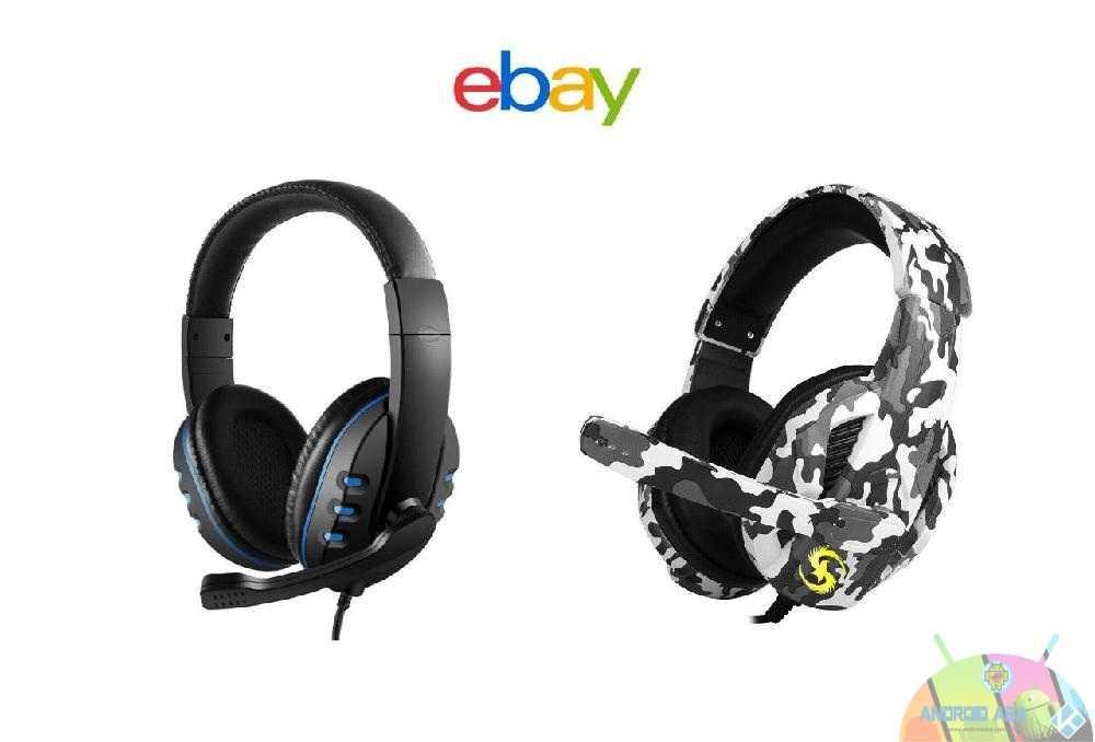 cuffie da gioco ebay