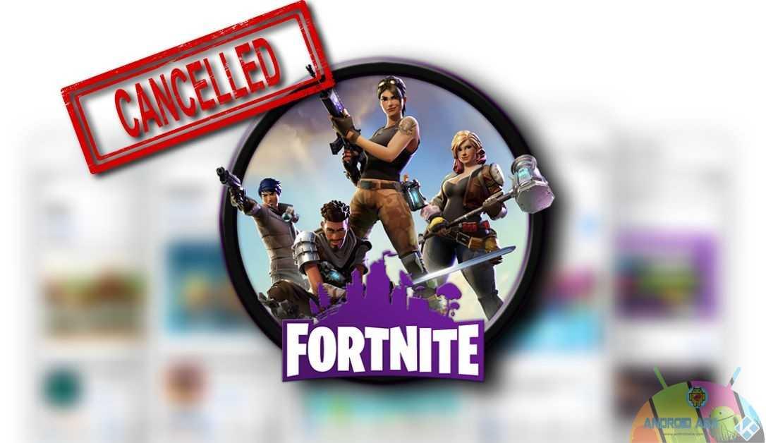 fortnite banned