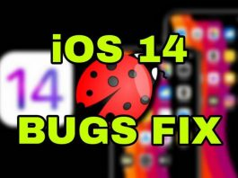 ios 14 bugs fix